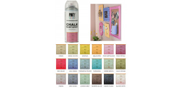 Aerosol o spray - PINTURA EFECTO TIZA CHALK SPRAY ROSA PETALO