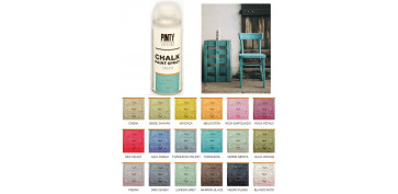 Aerosol o spray - PINTURA EFECTO TIZA CHALK SPRAY TURQUESA