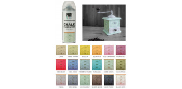 Aerosol o spray - PINTURA EFECTO TIZA CHALK SPRAY VERDE MENTA