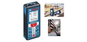 Medidores de distancias - TELEMETRO LASER GLM 80 BOSCH REF. 0.601.072.300