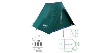 Tiendas de acampada - TIENDA CANADIENSE BATISIELLES 6 ALTUS