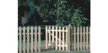 Cercado y ocultacion jardin - VALLA CLASICA MADERA COD: 407002