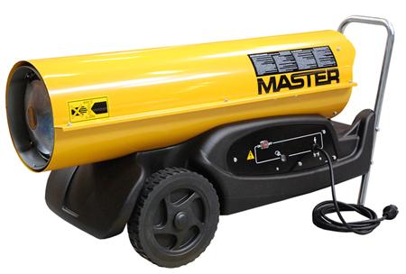 cañon calor master b180 con consumo por gasoil