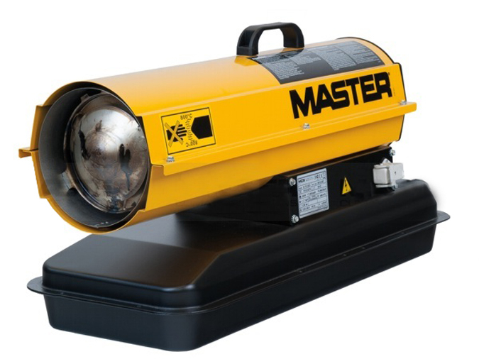 calefactores master de gasoleo por combustion directa b