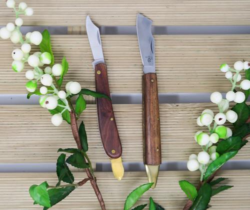 Las navajas de injertar son la herramienta imprescindible para las tareas de jardinería
