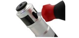 Embrague deslizante con regulacion exterior por destornillador de atornilladores neumaticos