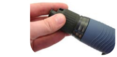 Embrague deslizante con regulacion exterior por mando giratorio de atornilladores neumaticos